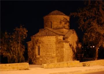 Η Βυζαντινή εκκλησία του Αγίου Γεωργίου του Τροπαιοφόρου.